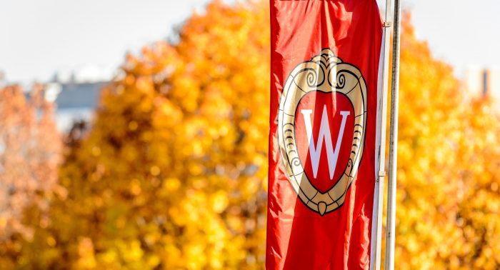 Fall colors and W banner