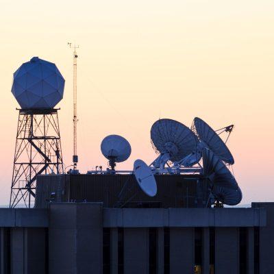 SSEC rooftop